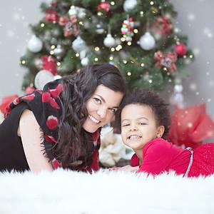 Sabrina & Malia's Christmas Session