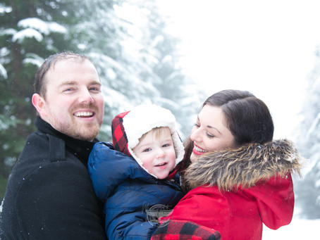 Snow Photo Session at Cypress - Vancouver