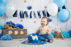 Daniel's Cake Smash-21