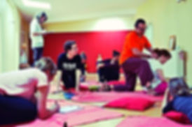 workshop Thai yoga massage international school berlin