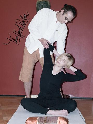 Thai yoga massage international certified school berlin