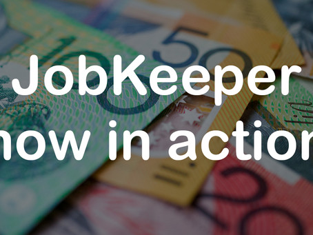 JobKeeper provides for almost 5 million people  (Also please download the COVIDSafe app)