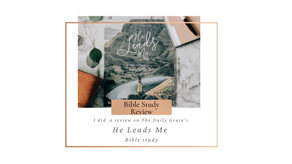 He Leads Me Bible Study Review