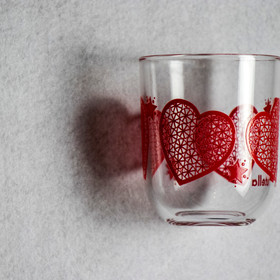 Glass of heart