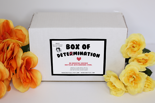 BOX OF DETERMINATION -- UNDERTALE INSPIRED BOX