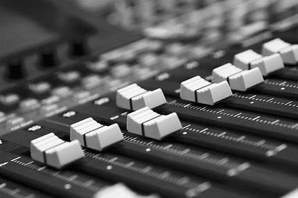 Audio Mixing Faders