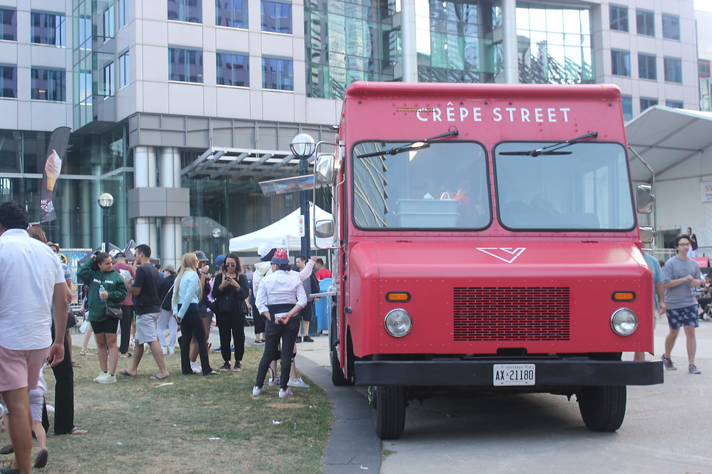 Crepe Street Food Truck at Sweetery