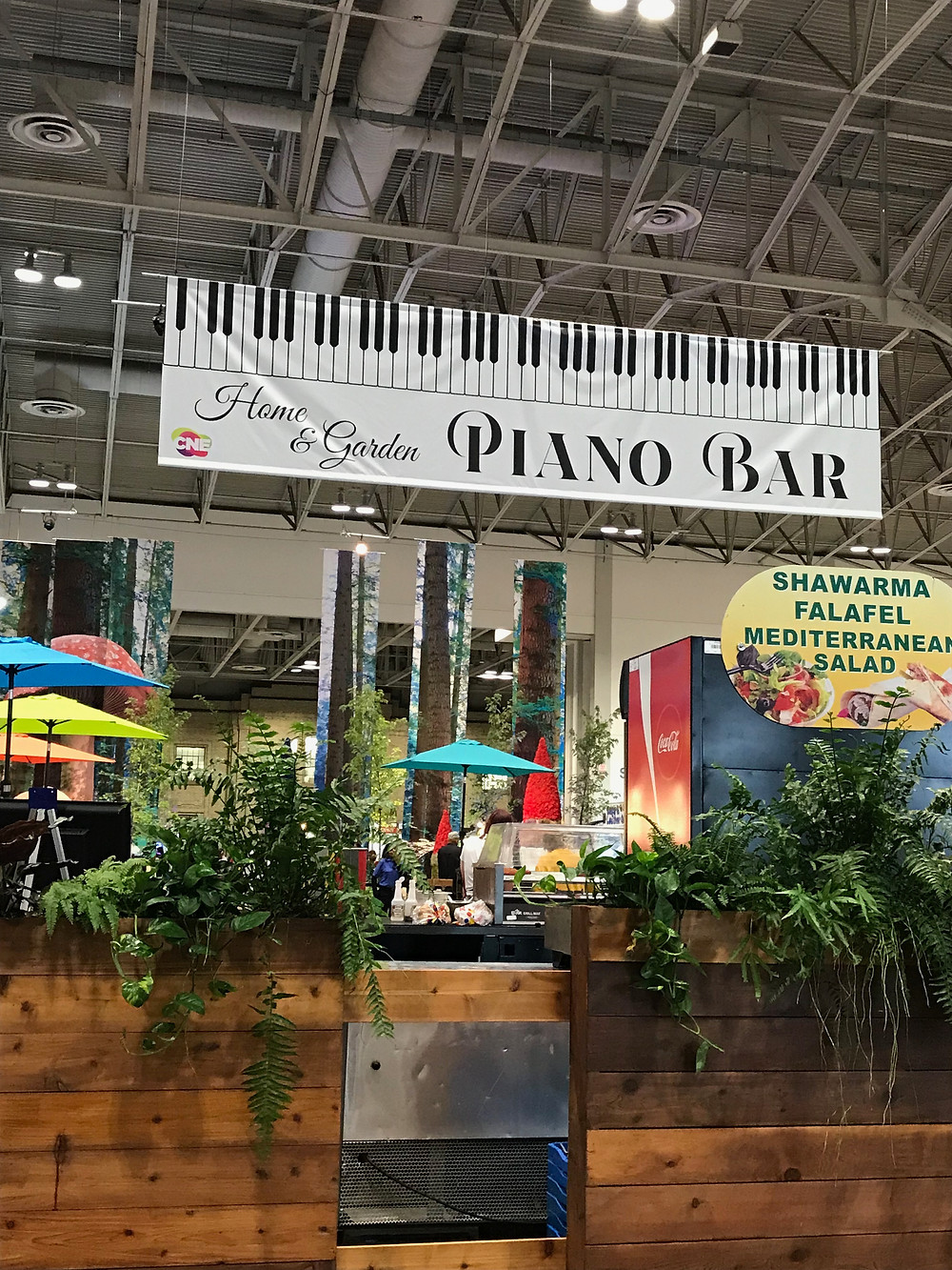 The Piano Bar at the C.N.E.