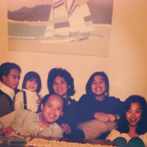 Old family photo. #family #80s.jpg