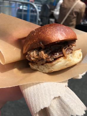 Burger Mania at Yonge & Dundas Square