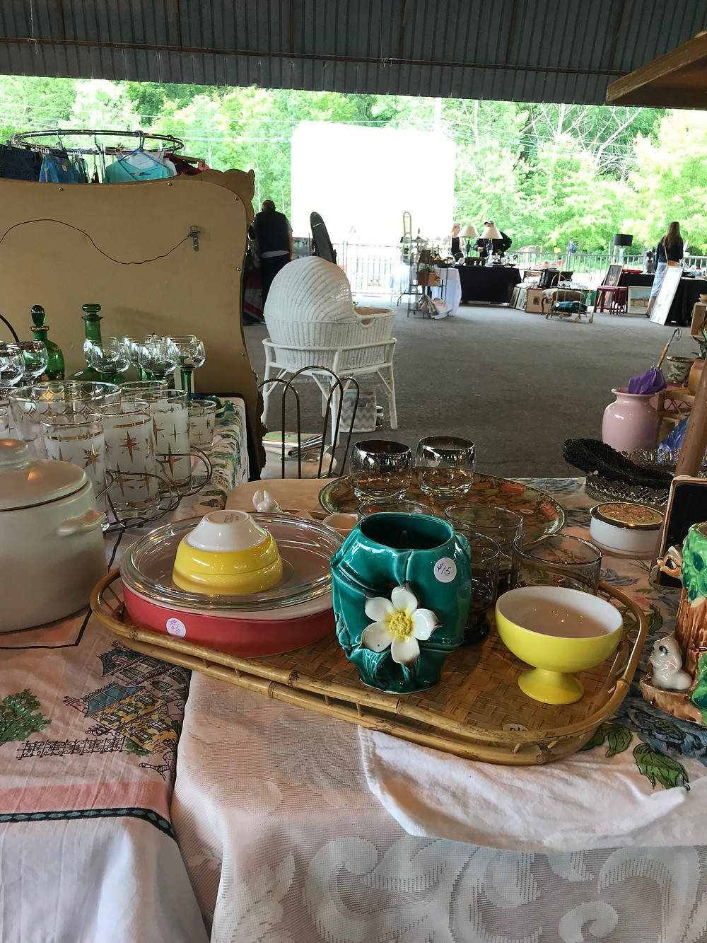 Items from the Ontario Vintage Market at Evergreen Brickworks