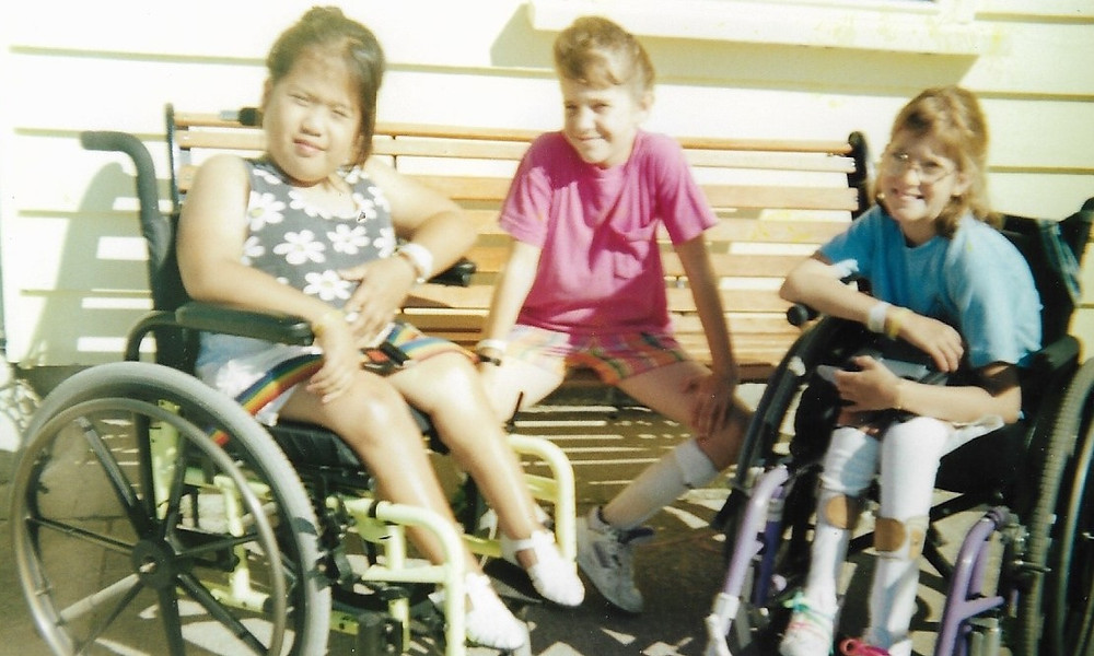 My first summer at Blue Mountain Easter Seals Camp