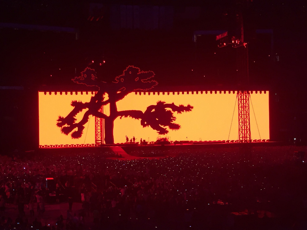 U2's Joshua Tree 30th Anniversary Tour at the Rogers Centre