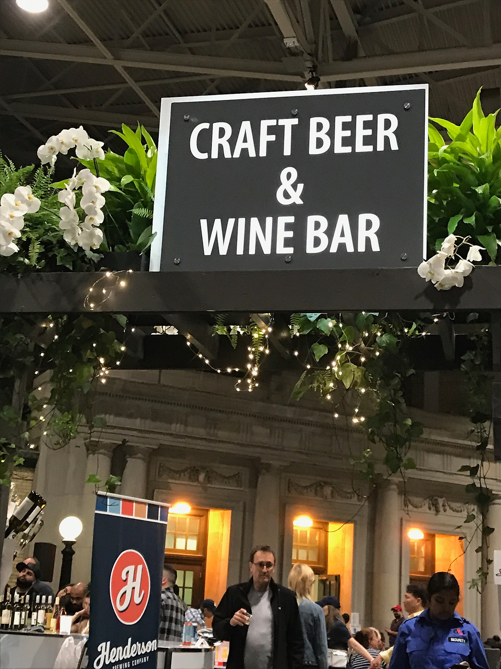 Craft Beer & Wine Bar at the C.N.E.