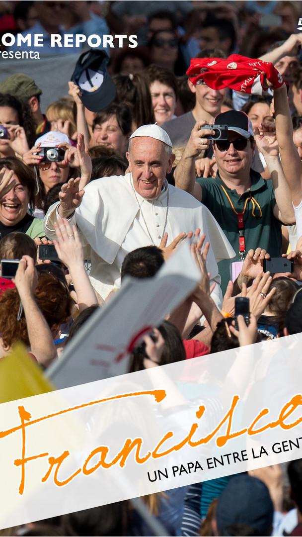 Francisco, un papa entre la gente.jpg