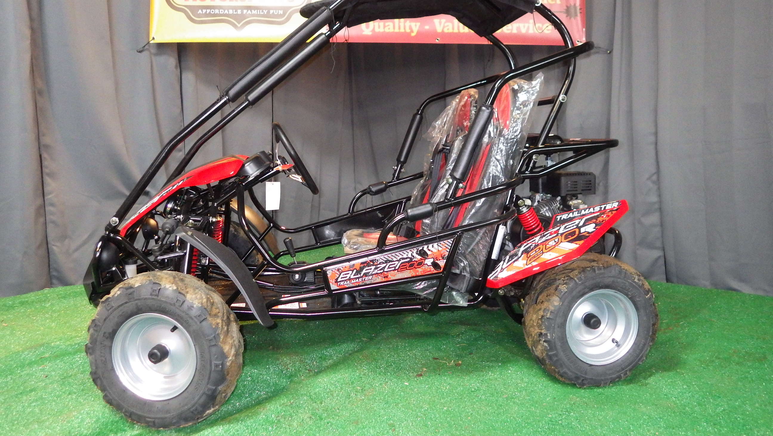 Blazer 200R left
