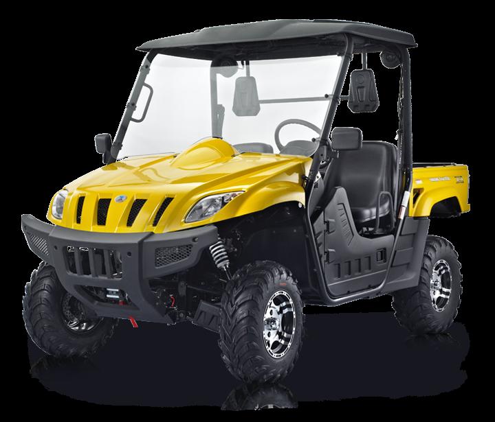 BMS Ranch Pony 500 EFI - yellow1