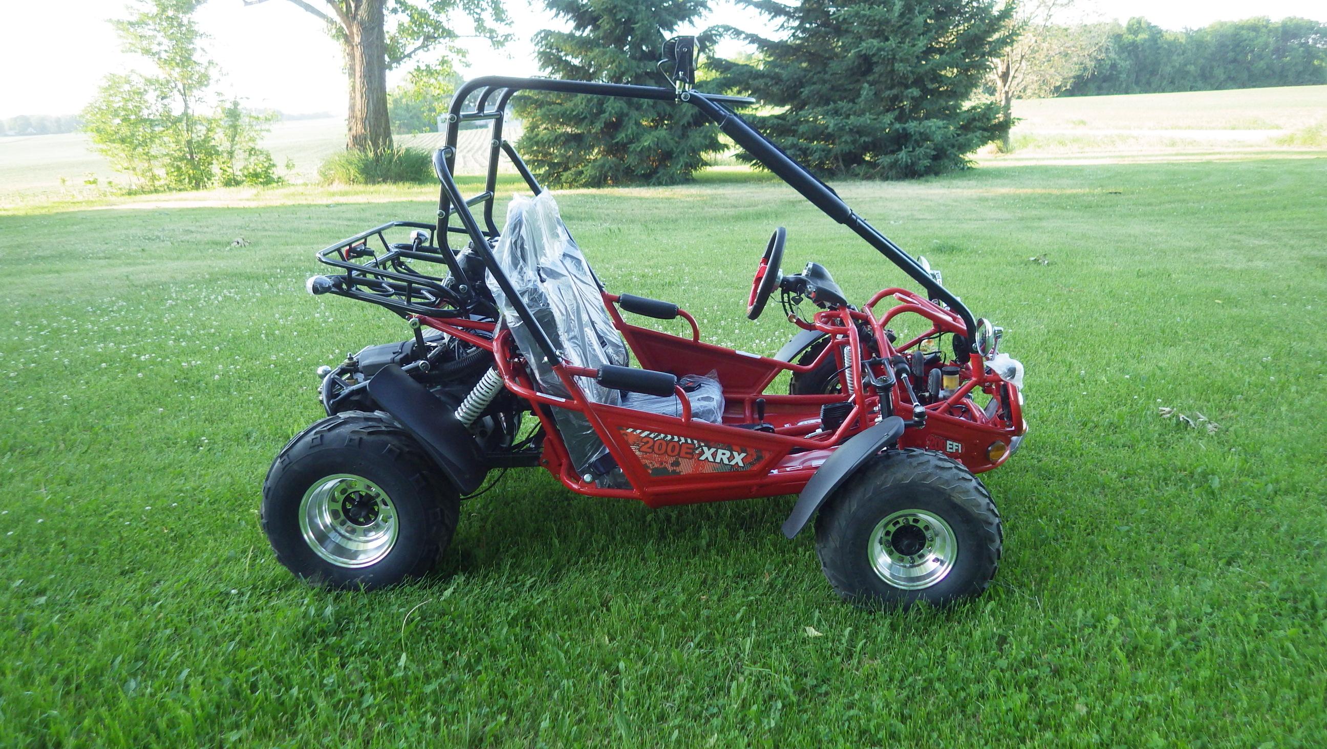 TrailMaster 200 E-XRX Red7
