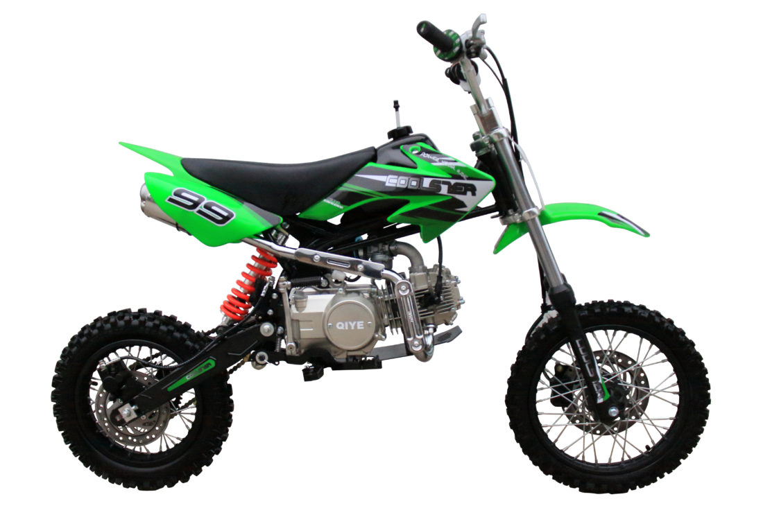 Coolster XR-125 Green right