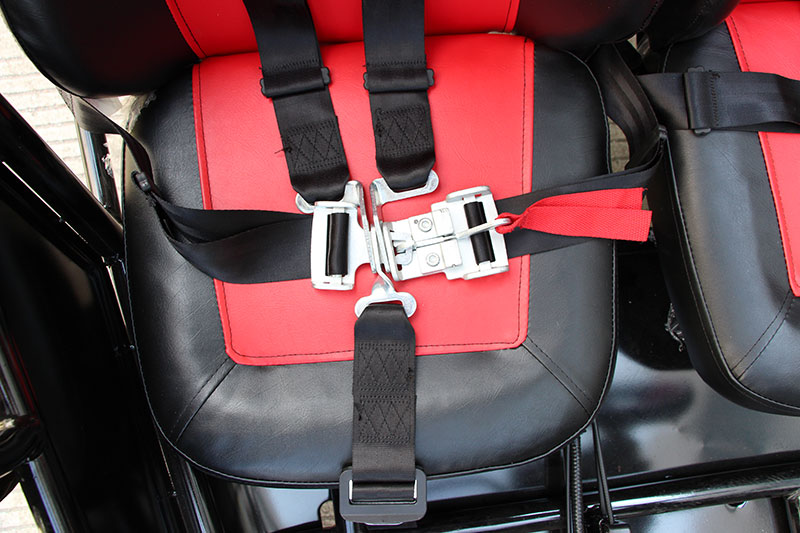 Blazer 150x seatbelts