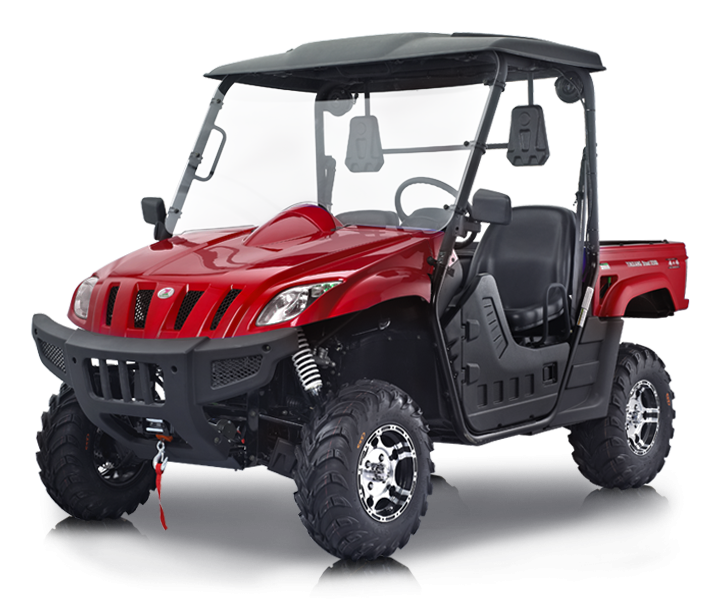 BMS Ranch Pony 500 EFI - Red