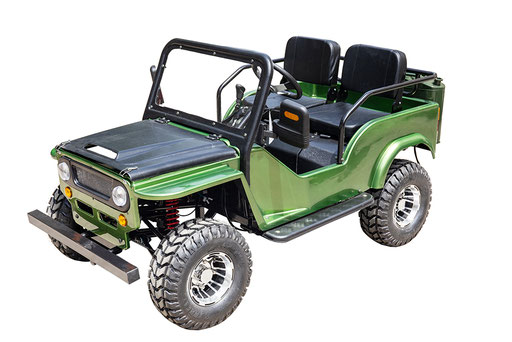 MW-125 Jeep Green LF hi