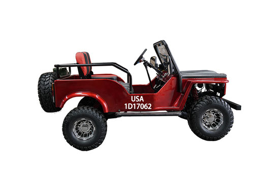 MW-125 Jeep Red Rt
