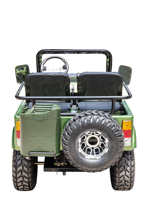MW-125 Jeep Green Rear