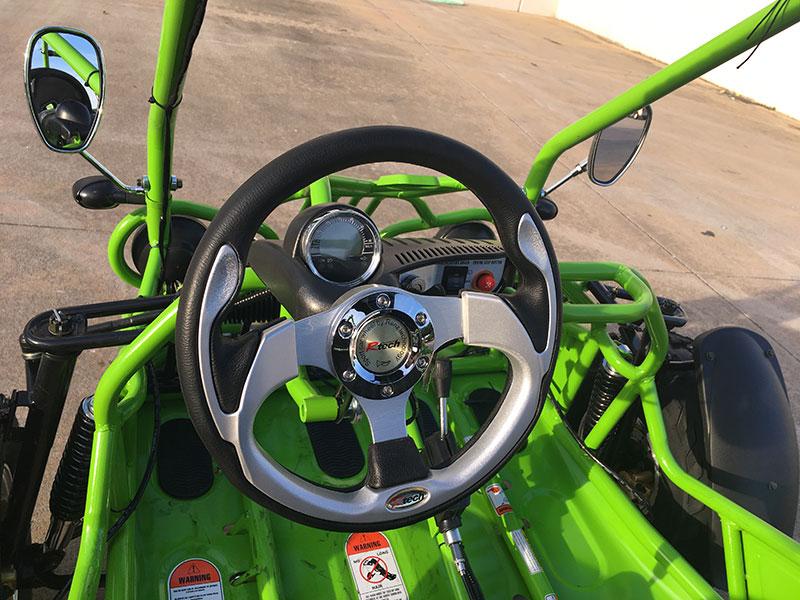 150 XRX steering wheel