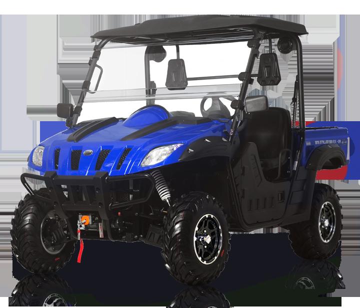 BMS 600 Stallion EFI - Blue