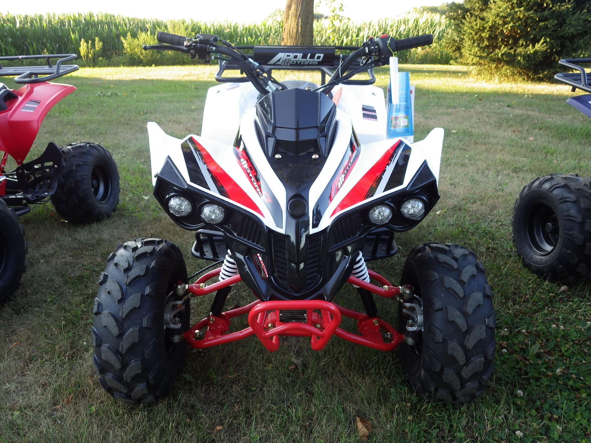 Apolloa Sportrax 125cc front