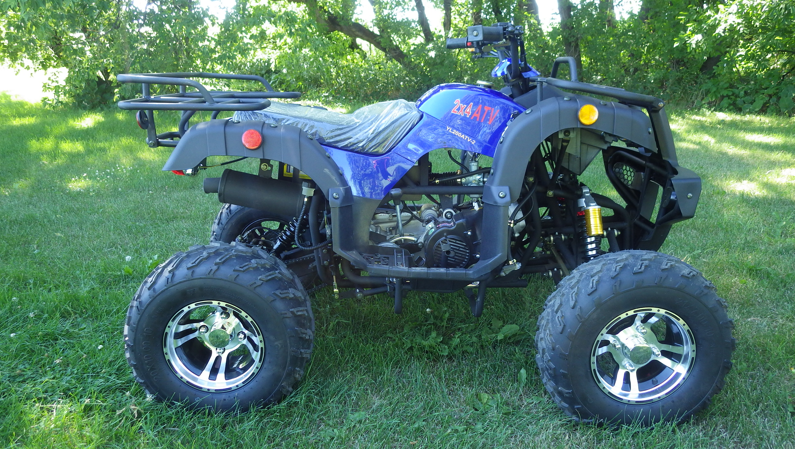 Cougar 200 UT - Blue Right