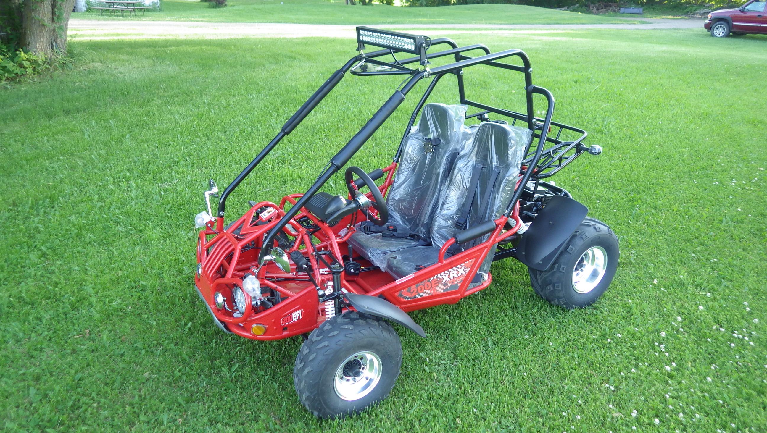 TrailMaster 200 E-XRX Red 9