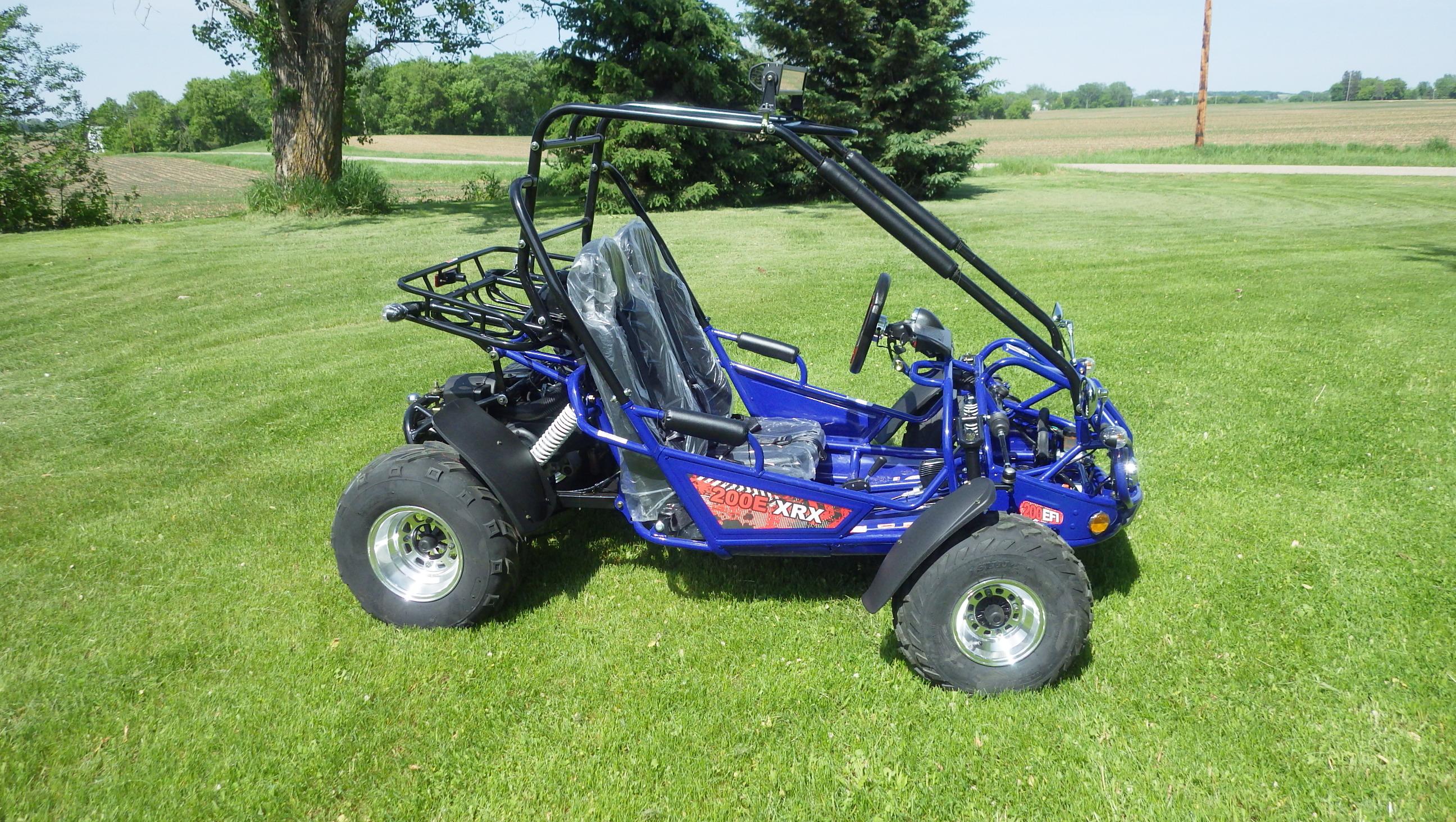 TrailMaster 200 E-XRX Blue6