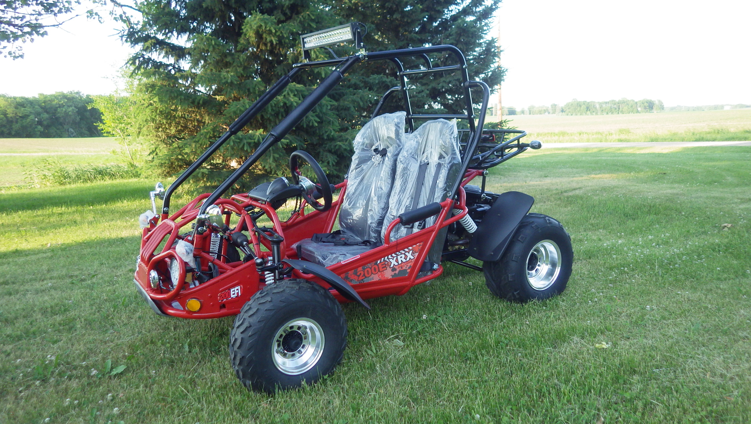 TrailMaster 200E-XRX Red4