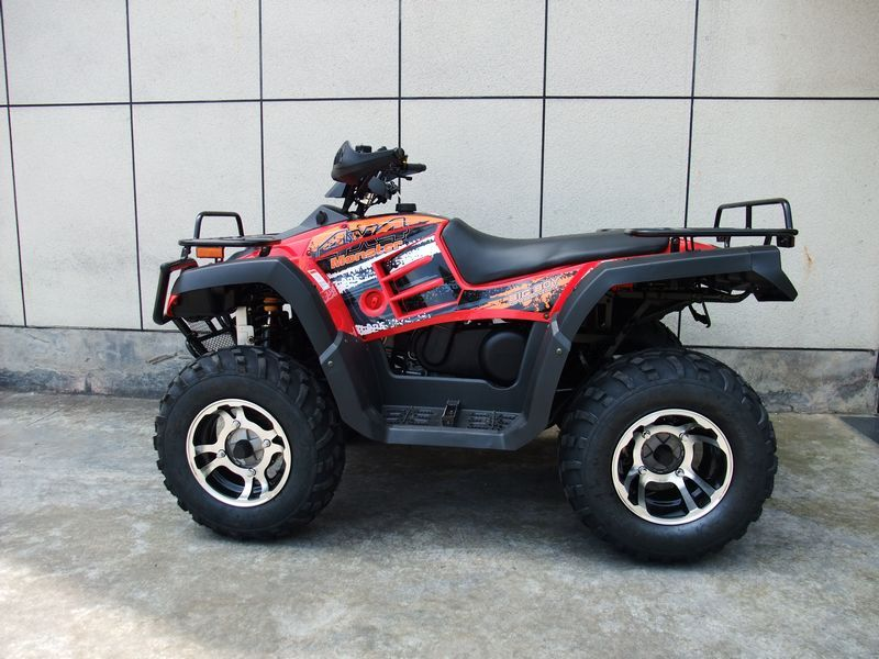 Monster 300 4x4 red left