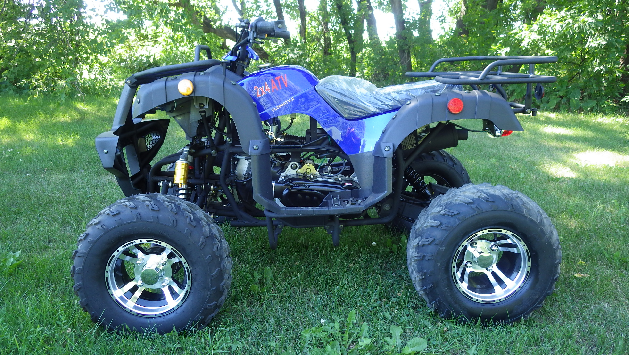 Cougar 200 UT - Blue left