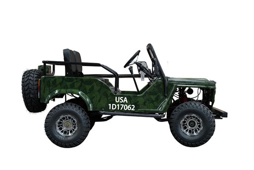 MW-125 Jeep Camo Right