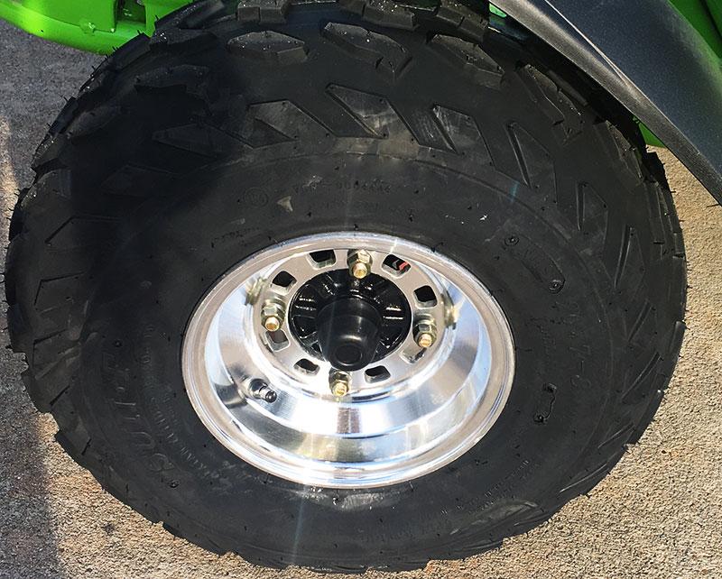 150 XRX Rear tire