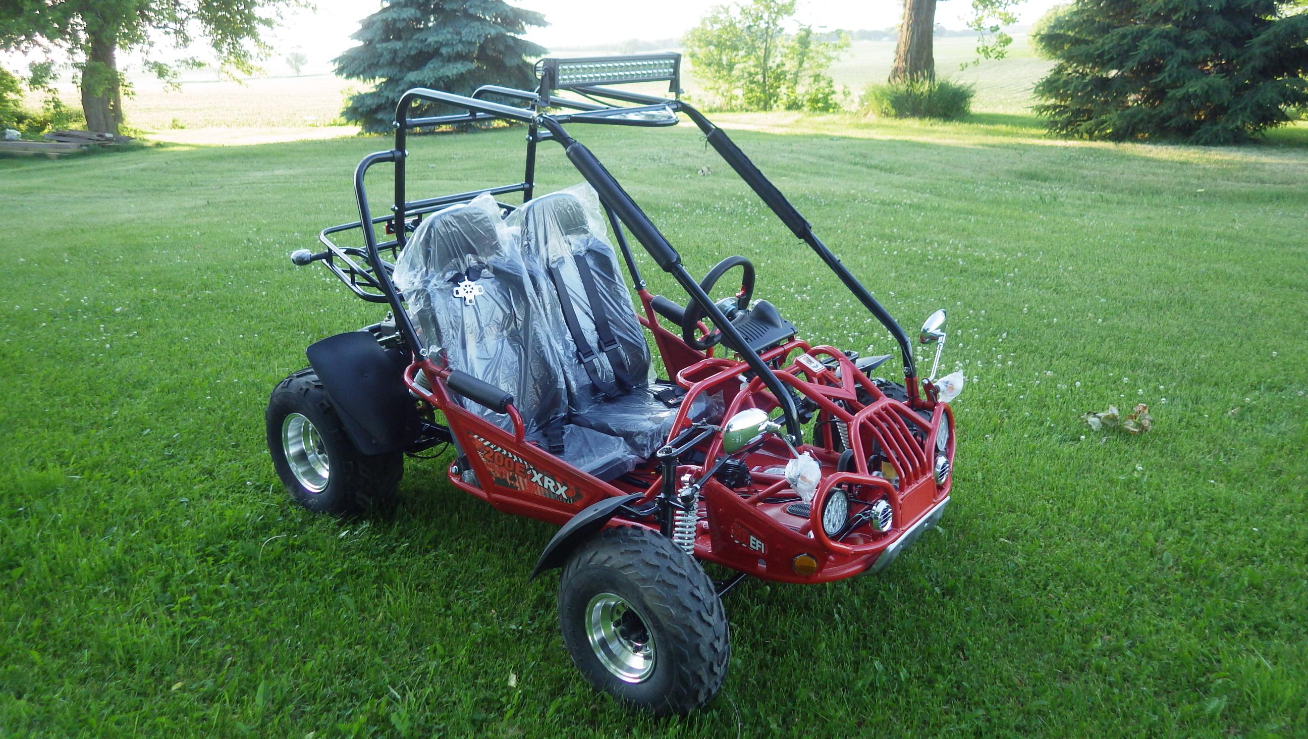 TrailMaster 200 E-XRX Red 8