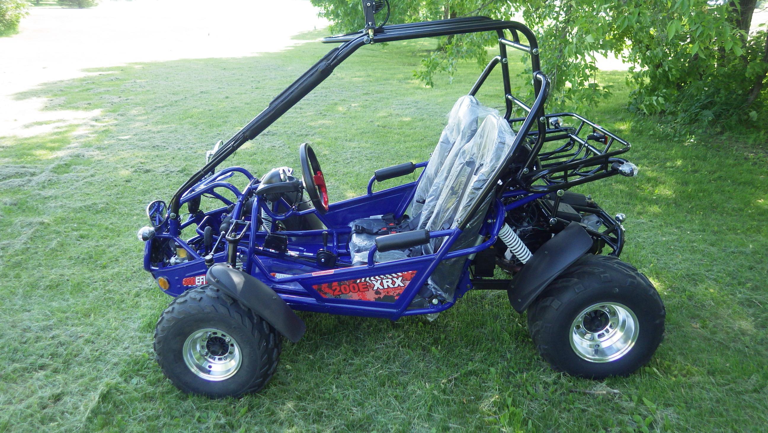 TrailMaster 200 E-XRX Blue3