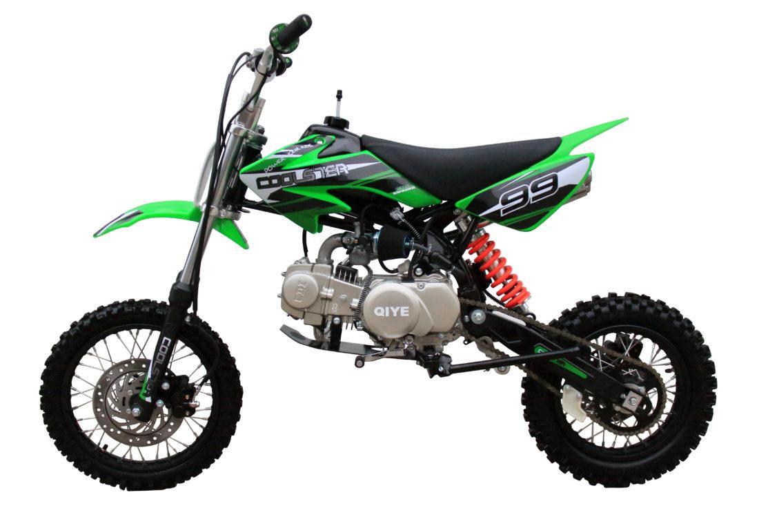 Coolster XR-125 Green Left