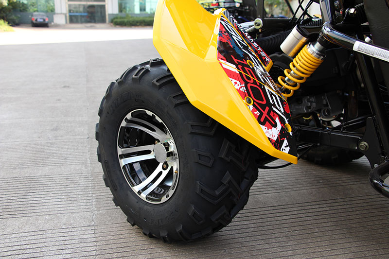 Blazer 150x yellow rear whl
