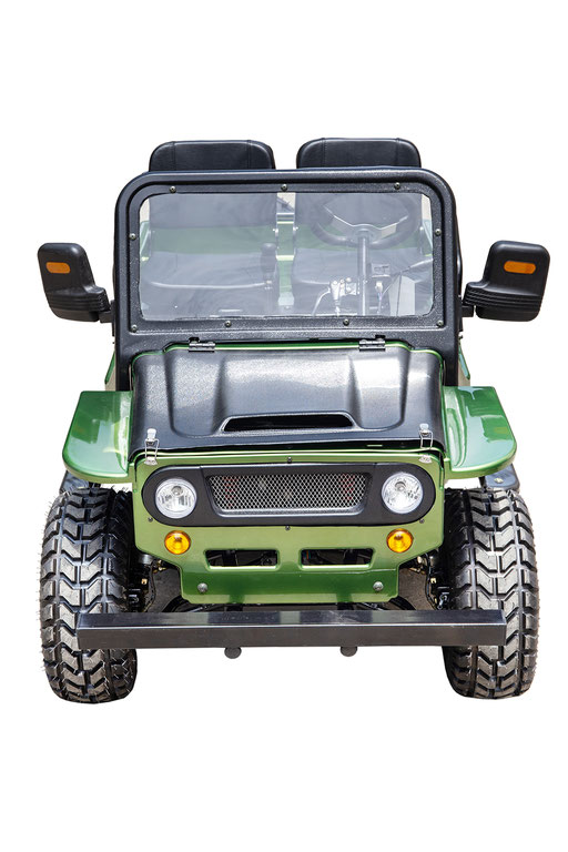 MW-125 Jeep Green Front