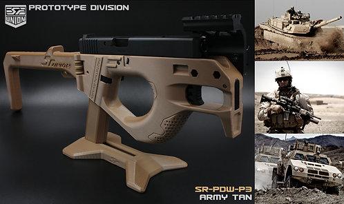 SR-PDW- P3-GUN-G34 ( SEMI VERSION ) / TAN