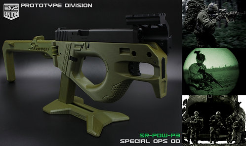 SR-PDW-P3-GUN-G34 ( SEMI VERSION ) / OD