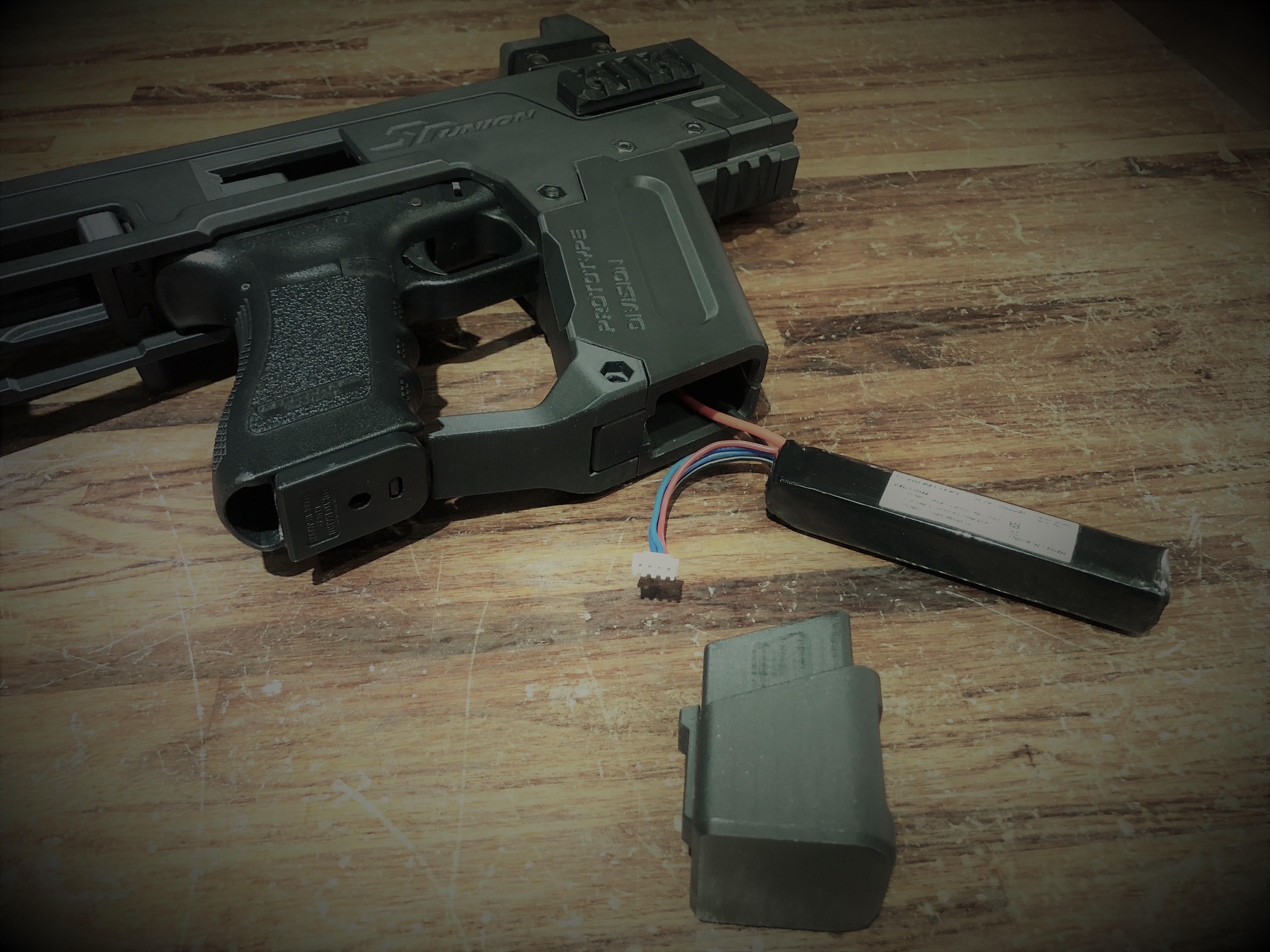 SR-PDW-K battery