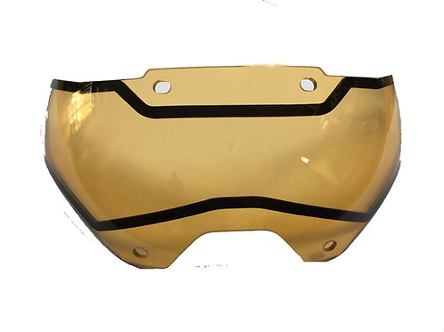 Tactical Helmet Lens-Dark Yellow