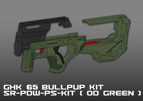 GHK G5 BULLPUP KIT ( OD GREEN )