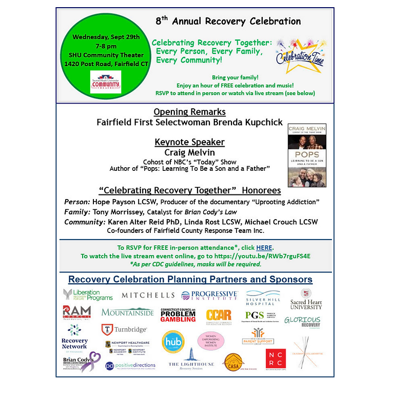 8th Annual Recovery Celebration